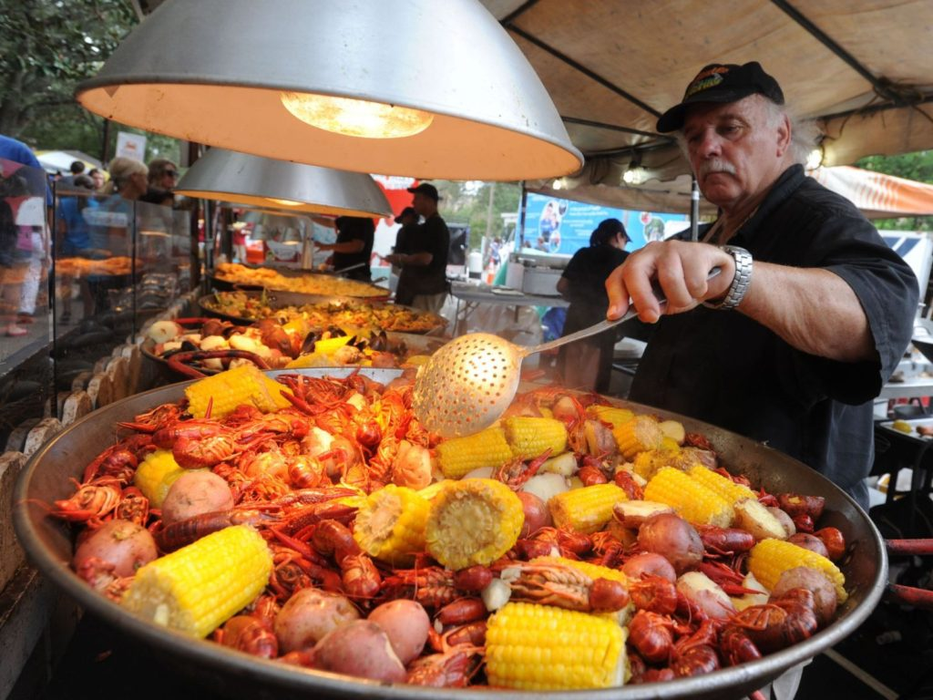 Pensacola Seafood Festival September 30th - October 2nd