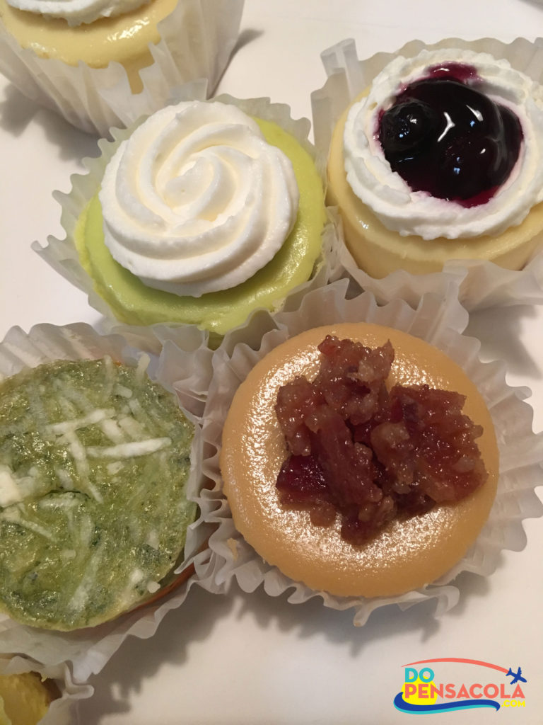 Szotski's Mini Cheesecakes