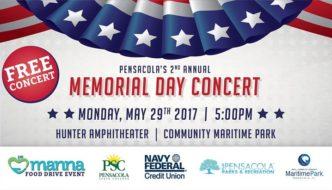 Memorial Day Events in Pensacola