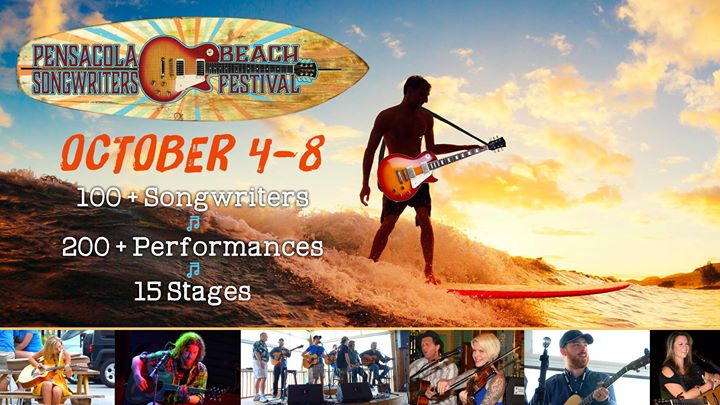 9th Annual Pensacola Beach Songwriters Festival