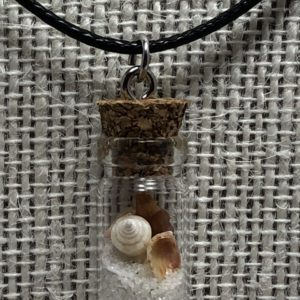 Genuine Pensacola Beach in a Bottle Necklace