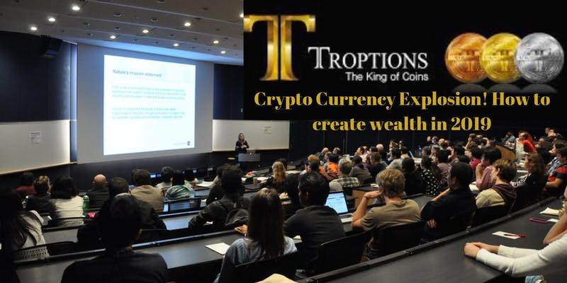 How to create wealth in 2019! Cryptocurrency! Pensacola, FL