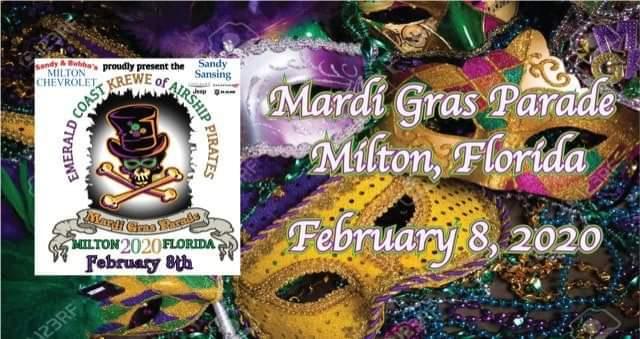 Milton Fl Christmas Parade 2020 Milton Mardi Gras Parade