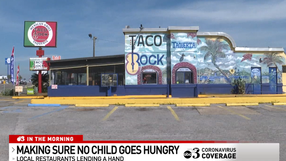Pensacola restaurants offers free lunches to school kids