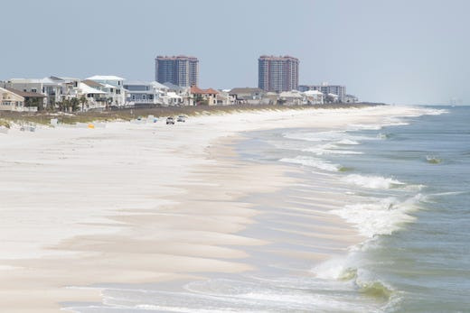 When are Florida beaches reopening? Here's a live look along The Panhandle and beyond.
