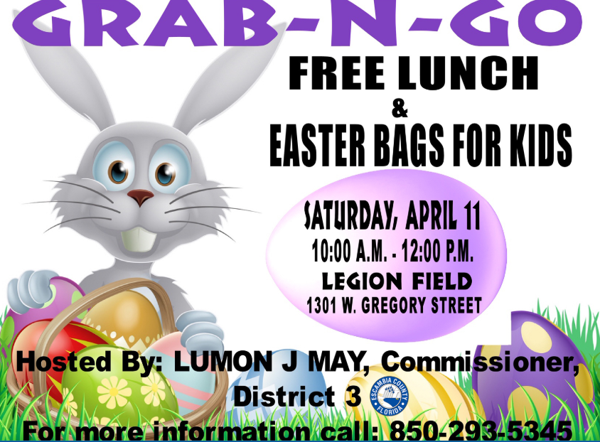 Grab and go Easter event in Pensacola Saturday