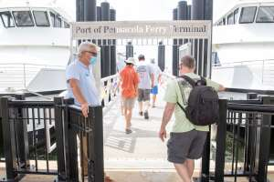 Pensacola Bay Cruises return with half-capacity rides between downtown, Pensacola Beach