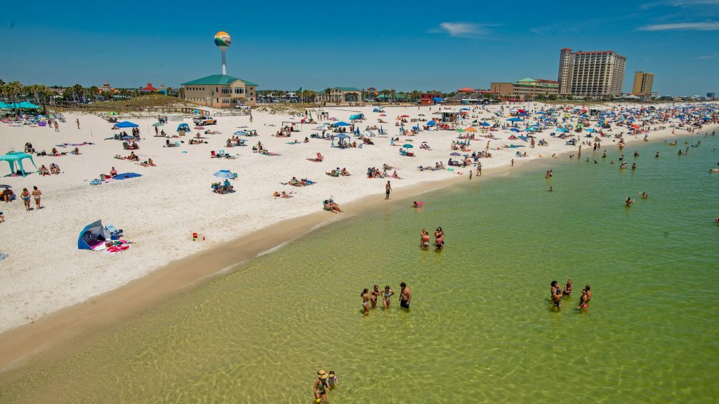 Escambia County public beaches now fully reopen, Perdido Key beaches still closes at sundown