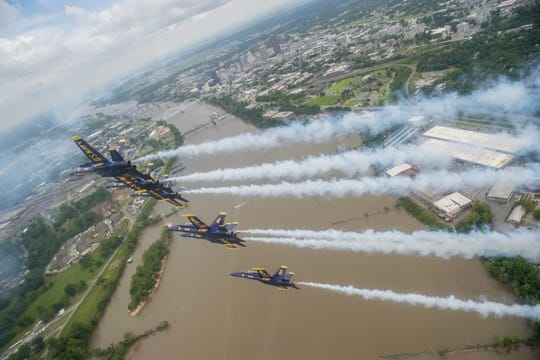 Blue Angels ready for beach air show if COVID-19 permits, public practices up in the air