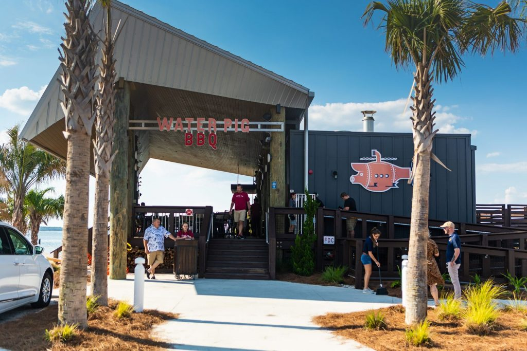 Water Pig BBQ Now Open on Pensacola Beach