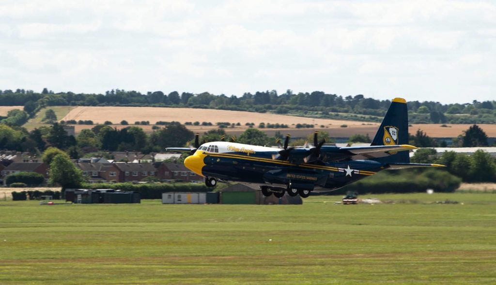 Blue Angels's new Fat Albert coming home to Pensacola soon