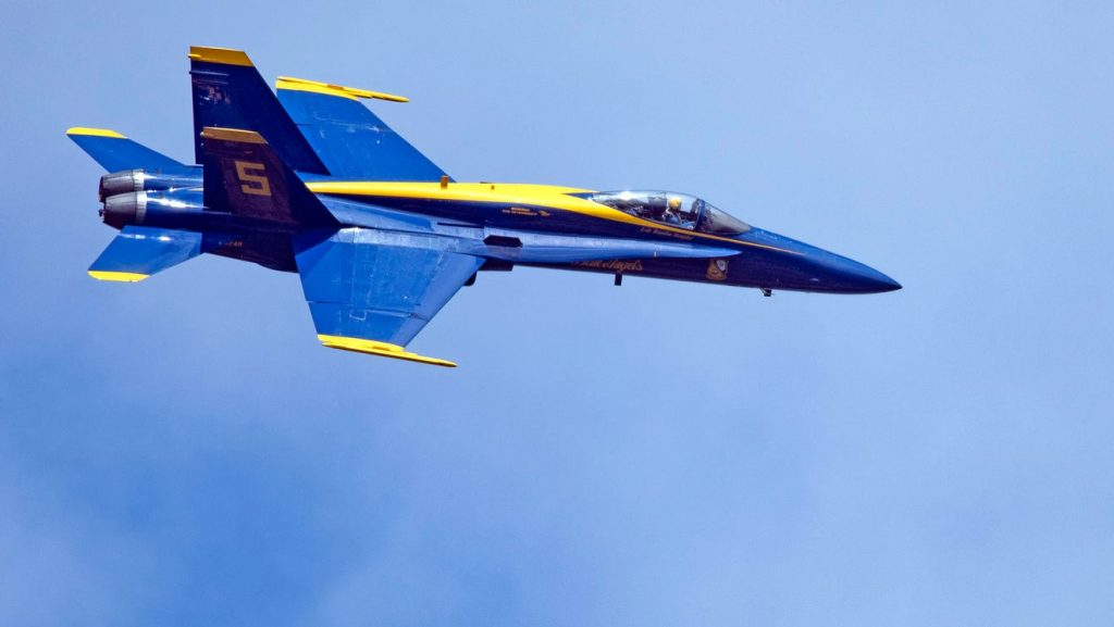 Blue Angels' 2021 practice schedule released. Base access limited to DoD cardholders.