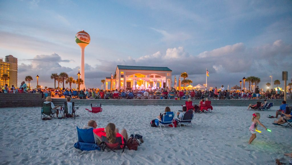Pensacola Beach's 'Bands on the Beach' concert series returns in April, lineup released