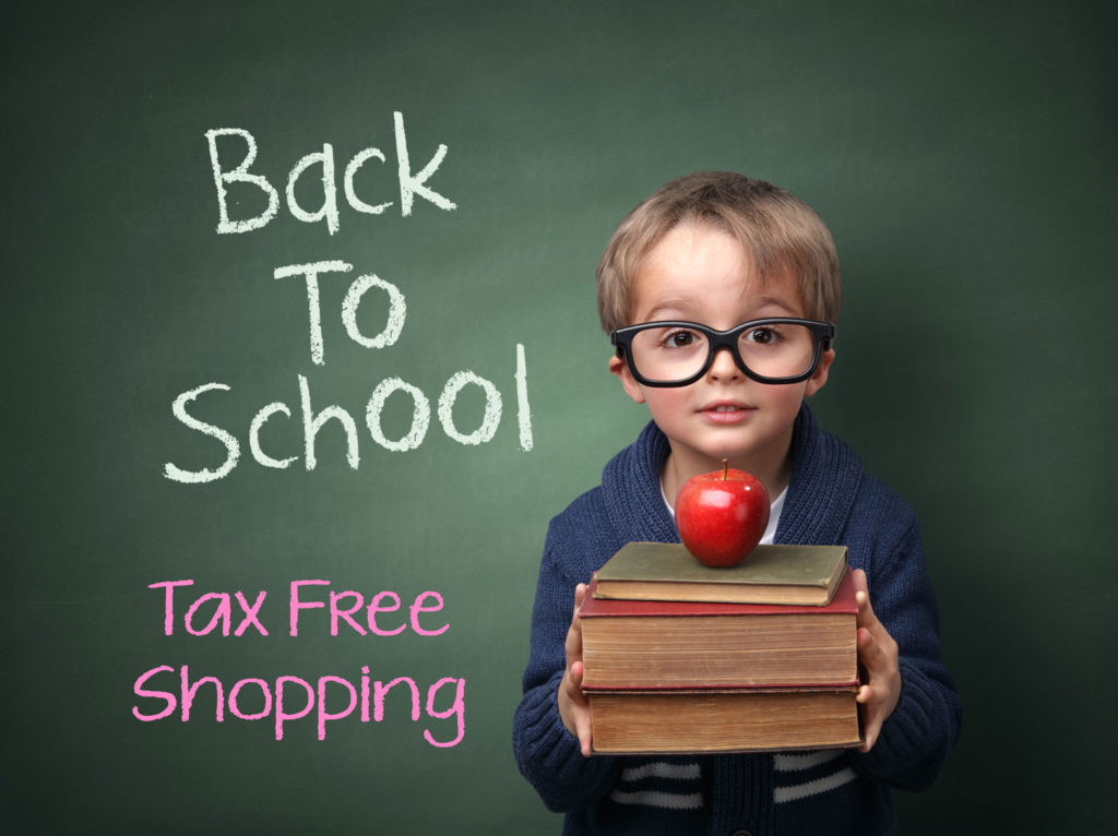 Florida Tax Free Weekend August 5th thru 7th