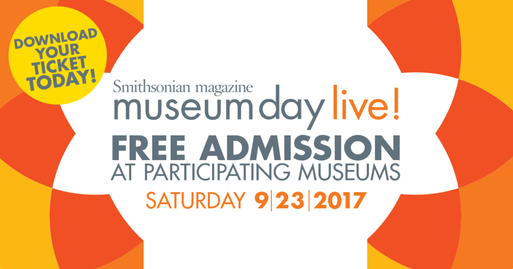 Free Museum Passes for Museum Day Live!