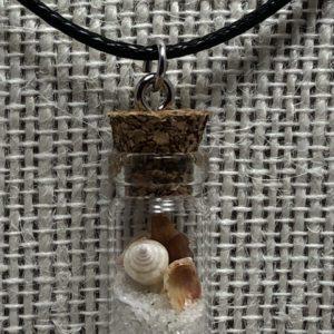Genuine Pensacola Beach in a Bottle Necklace