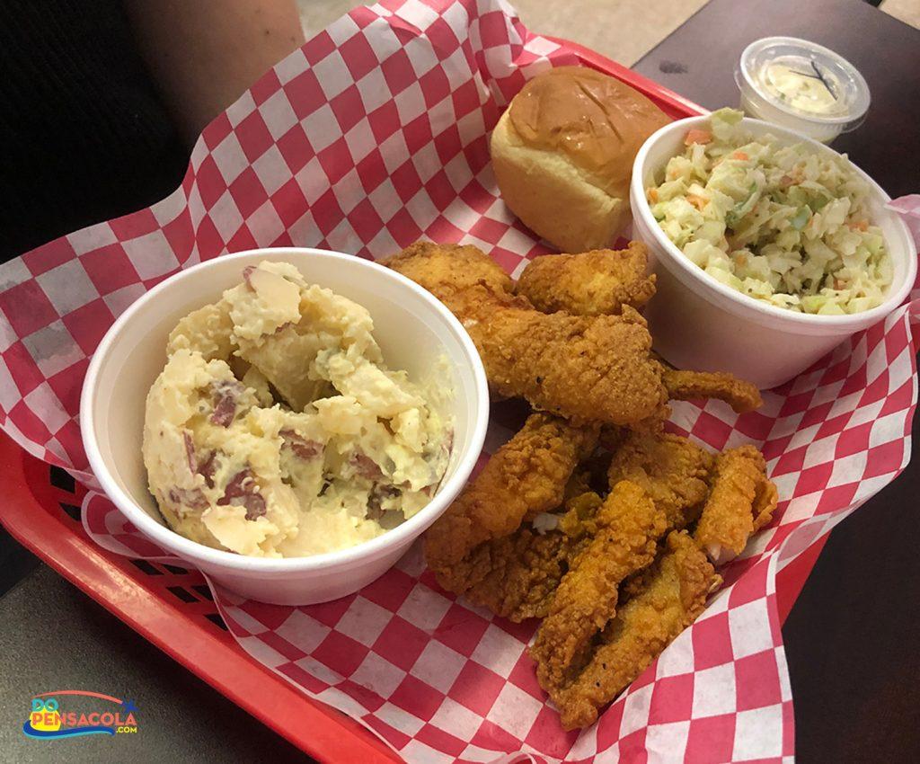 Cajun Style Food at Louisiana Lunchbox