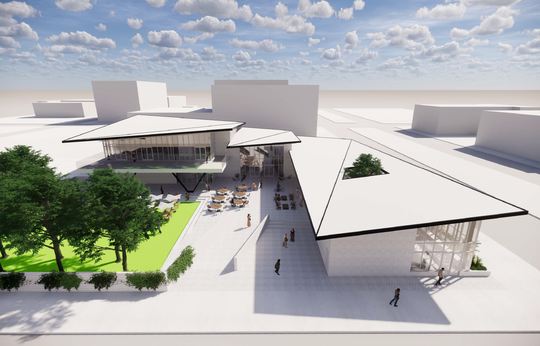 Downtown Pensacola food hall, event space and entertainment complex planned for 2022