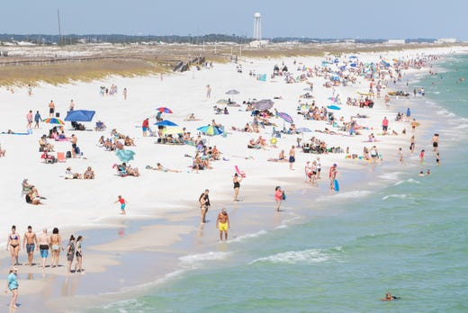 Navarre Beach and pier will open without time restrictions starting Wednesday