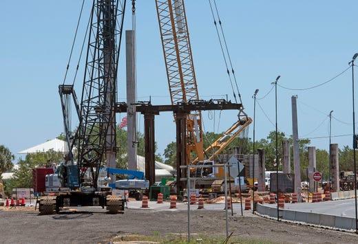Pensacola Bay Bridge project still on track despite pandemic; foot path near completion