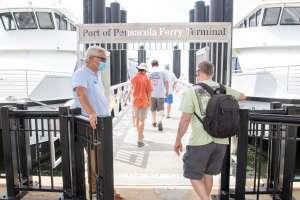 Pensacola Bay Cruises return with half-capacity rides between downtown, Pensacola Beach