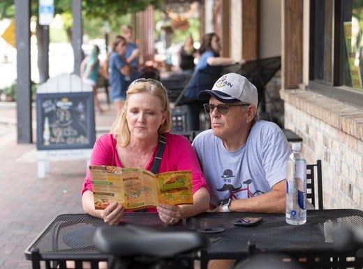 Pensacola mayor proposes closing Palafox so restaurants, retail can operate outside