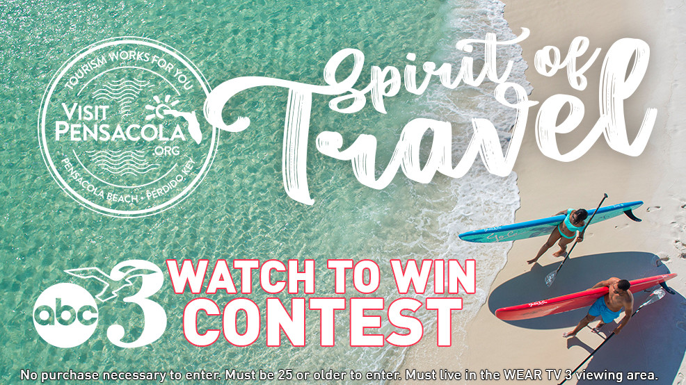 WEAR and Visit Pensacola & Spirit of Travel Watch to Win Contest