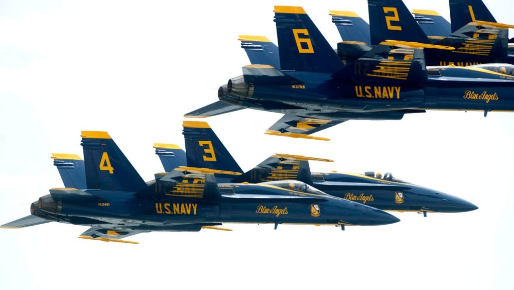 Don't expect normal Blue Angels beach show: Flyover, condensed show, is more likely