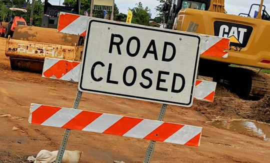 Here's A List Of The Road Construction Delay Spots For This Week