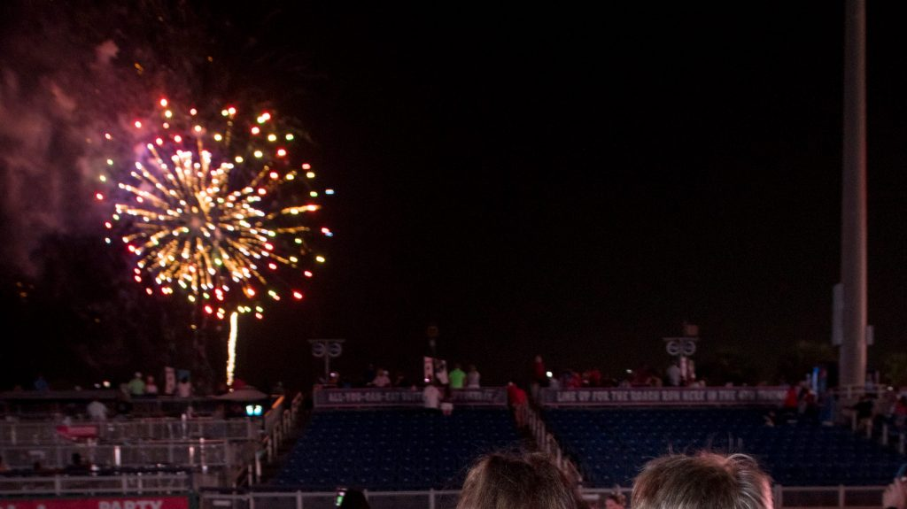 Fourth of July fireworks canceled at Blue Wahoos Stadium due to COVID-19