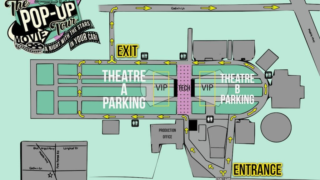 Pop-Up Movie Tour is back in Pensacola: Movie listings, ticket info for the next two weeks