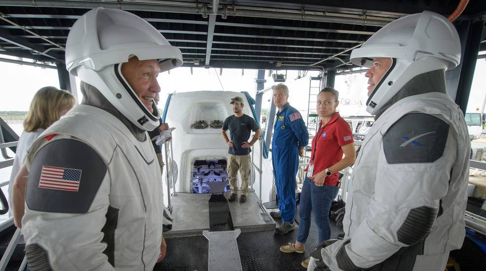 SpaceX splashdown could possibly happen in Pensacola