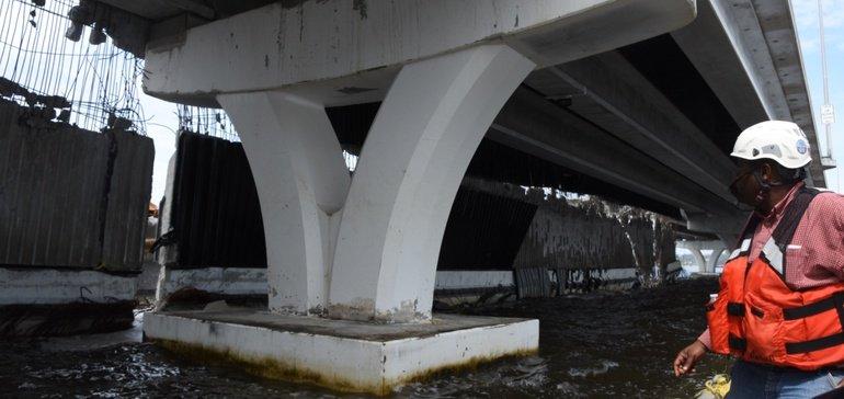 FDOT starts demo on damaged Pensacola Bay Bridge