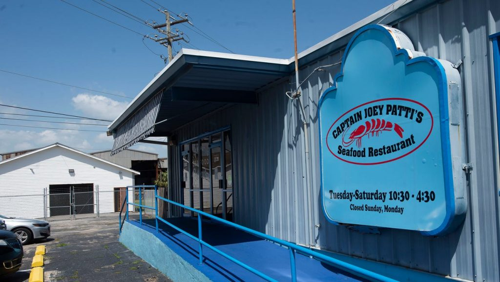 Captain Joey Patti's seafood restaurant moving into former Cypress building this fall