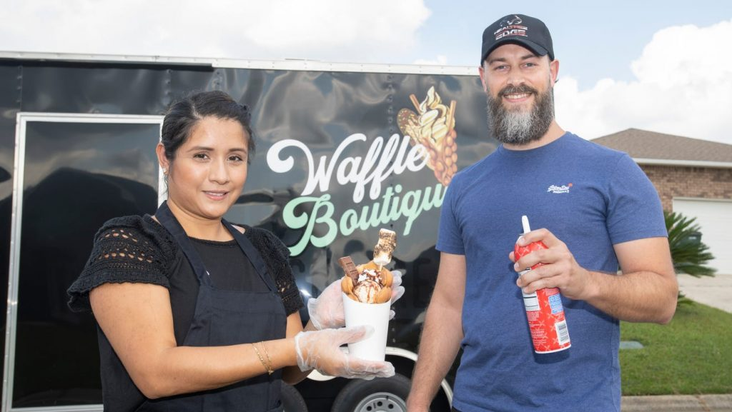 Eat with your eyes: Waffle Boutique food truck opens with sweet, savory waffle-based treats