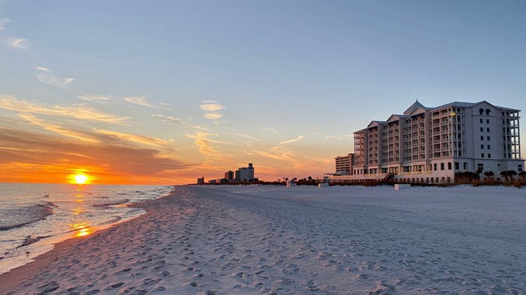 Buffeted by Hurricane Sally, Pensacola's Margaritaville Beach Hotel to reopen