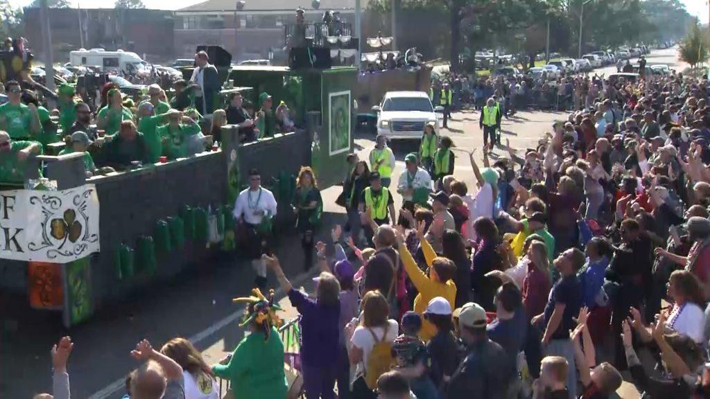Pensacola Mardi Gras celebration postponed until May