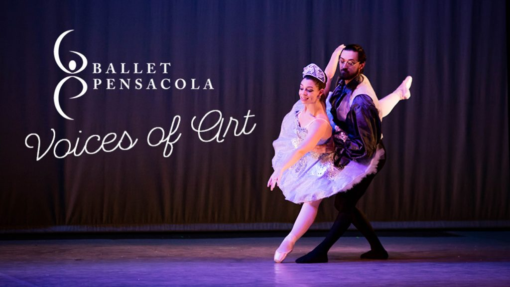 Ballet Pensacola Presents A Collaboration in the Arts – Voices of Art