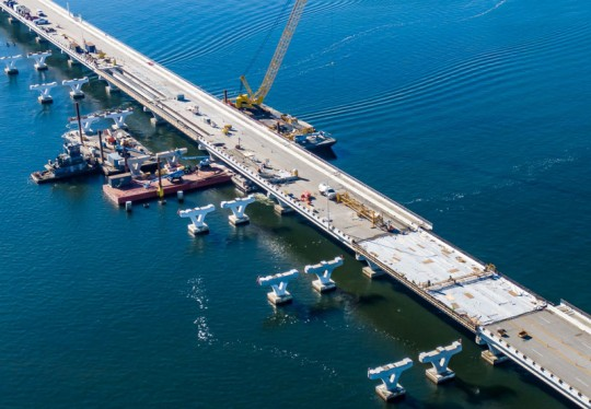 FDOT: All Hands On Deck To Complete Pensacola Bay Bridge Repair By March