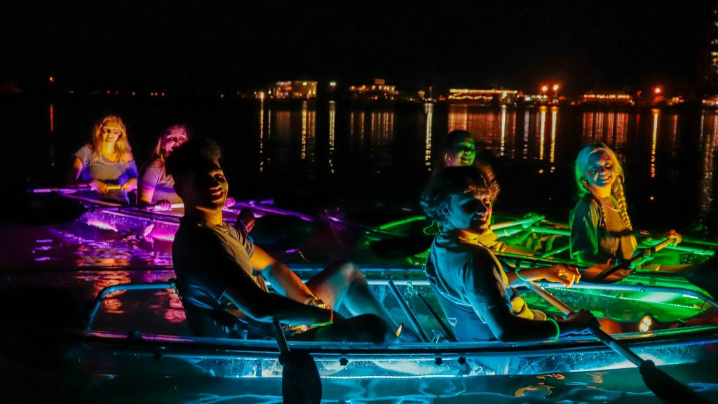 Glow Paddle will provide light-up kayaking experience on Pensacola Beach