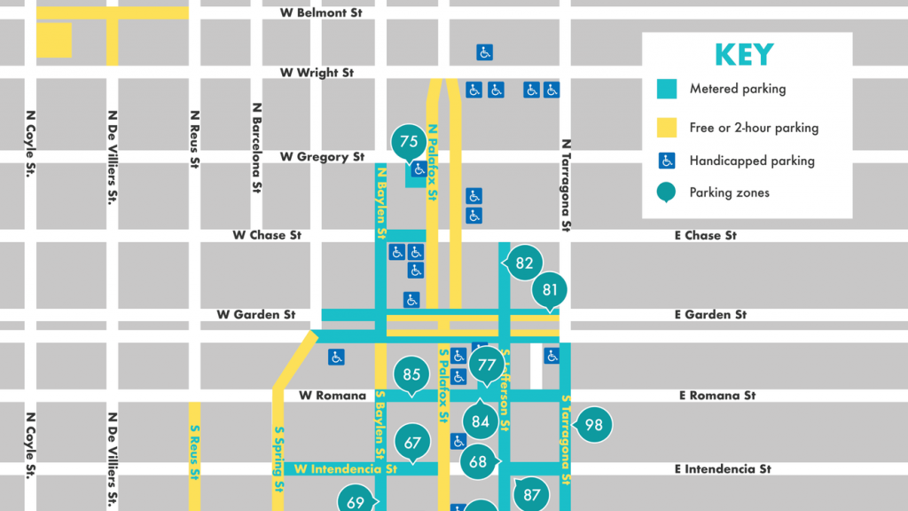Changes to Downtown Pensacola parking beginning May 1