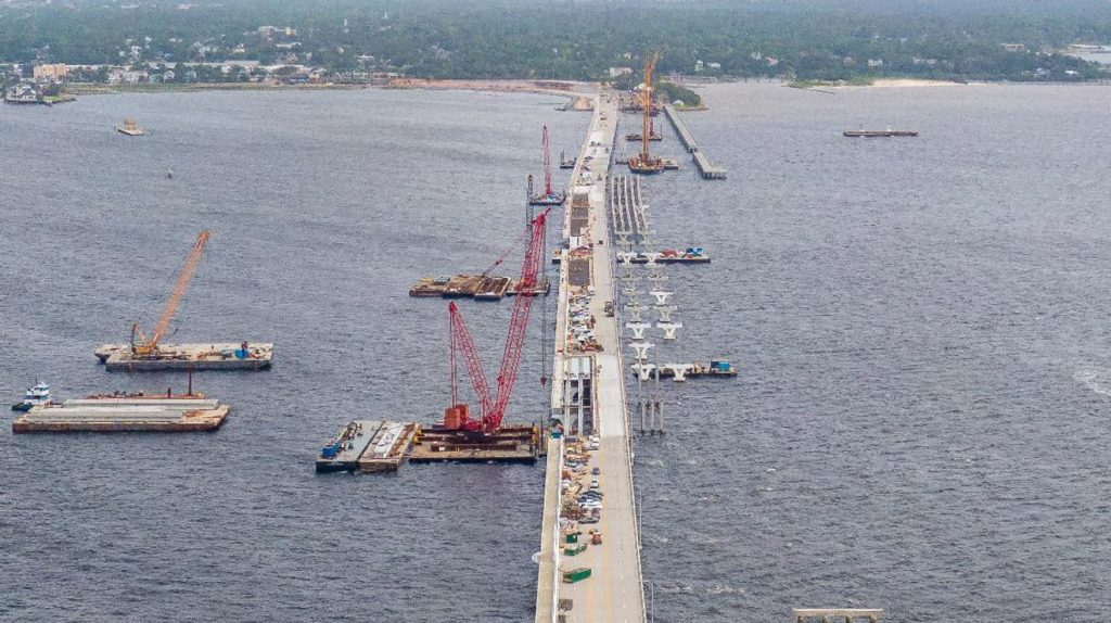 Pensacola Bay Bridge still on track to reopen the week of May 31
