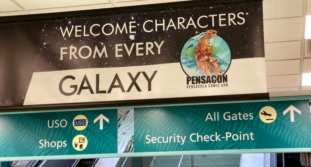 Pensacola International Airport goes intergalactic for Pensacon