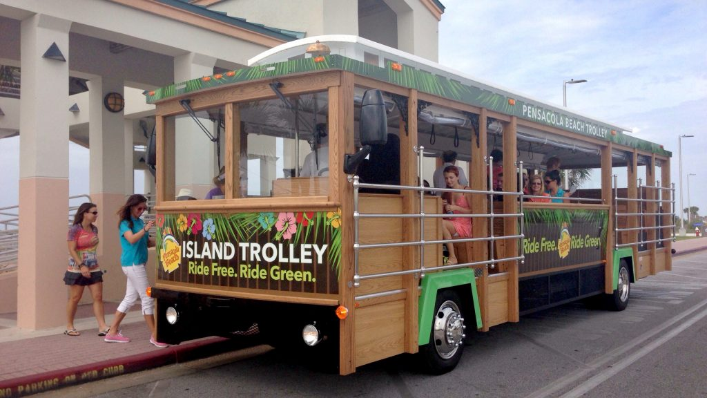 Free trolley service returns to Pensacola Beach Memorial Day Weekend