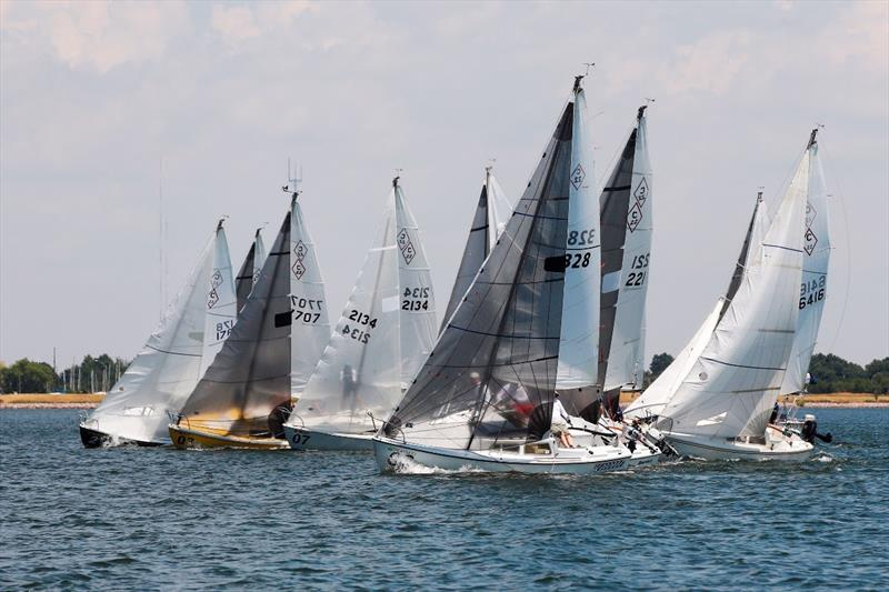 Catalina 22's now arriving at Pensacola Yacht Club for 50th Anniversary National Championships