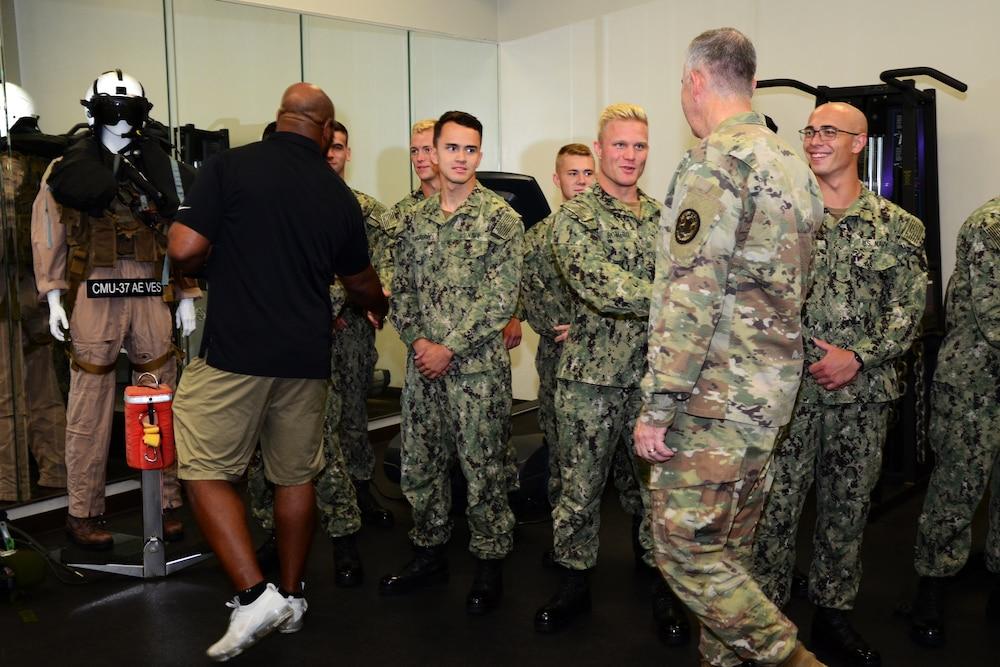Naval Air Station Pensacola Hosts USO Summer Tour