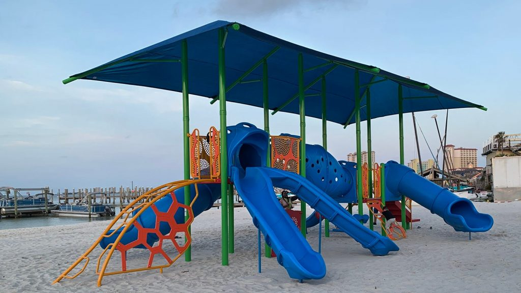Playgrounds, splash pad, walking tracks: Pensacola families have 2 new parks to explore