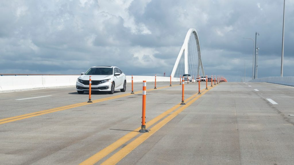 All 4 lanes of Pensacola Bay Bridge could reopen as soon as next week, officials say