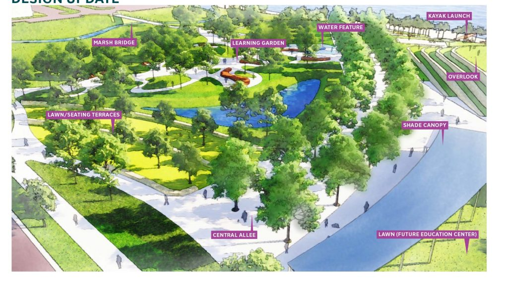 Pensacola unveils latest designs for improvements to Bruce Beach