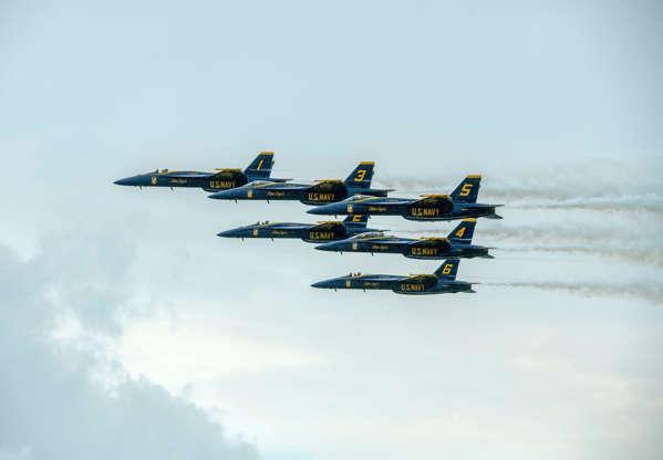 Blue Angels make huge return with new F/A-18 Super Hornets, Fat Albert Saturday